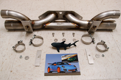Shark Werks 991 GT3 / RS Bypass Exhaust for 991 GT3 / RS